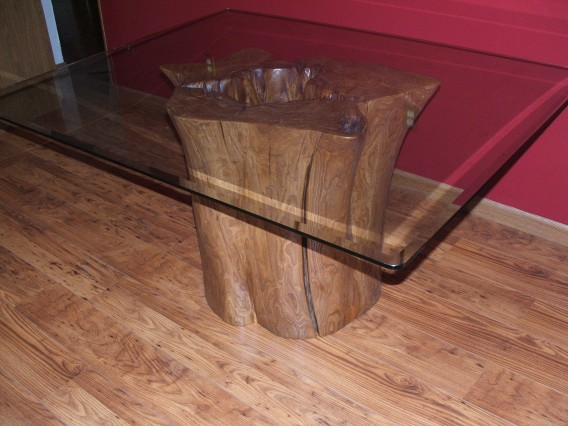 Refer To Quot Flat Cut Hollow Stump Table